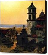 Santa Barbara Mission Canvas Print