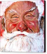 Santa Claus Canvas Print by Tom Roderick