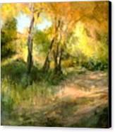 Santa Fe Fall Canvas Print