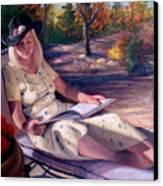 Santa Fe Garden 1 Canvas Print