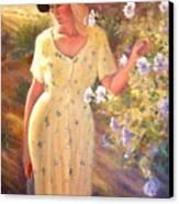Santa Fe Garden 3   Canvas Print