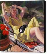 Santa Fe Garden 4 Canvas Print