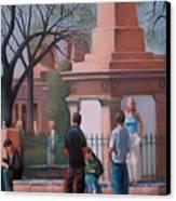 Santa Fe Plaza Canvas Print