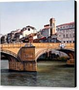Santa Trinita Bridge Canvas Print by Matthew Bates