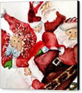 Santas Canvas Print by Dana Patterson