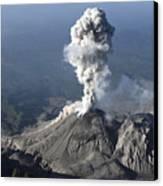 Santiaguito Ash Eruption, Guatemala Canvas Print by Martin Rietze