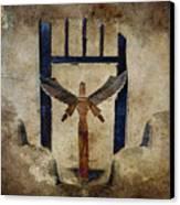 Santo Canvas Print by Carol Leigh
