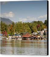 Saranac Lake Canvas Print