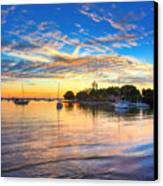 Sarasota Bay Canvas Print by Jenny Ellen Photography