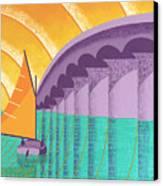 Sarasota Sail Canvas Print