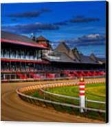 Saratoga Race Track Canvas Print by Don Nieman