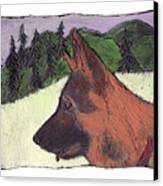 Sarge Canvas Print