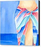 Sarong Canvas Print