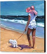 Sassy Jr Canvas Print by Laura Lee Zanghetti