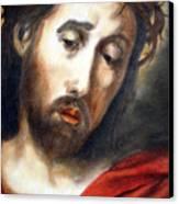 Savior Canvas Print by Caprice Scott
