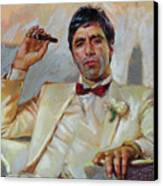 Scarface Canvas Print by Ylli Haruni