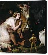 Scene From A Midsummer Night's Dream Canvas Print