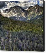 Scenic View From The Highway Canvas Print