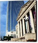 Schermerhorn Symphony Center Nashville Canvas Print by Susanne Van Hulst