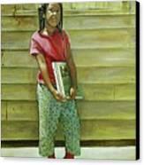 School Daze Canvas Print by Curtis James