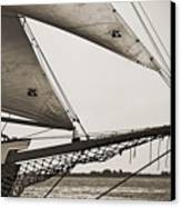 Schooner Pride Tall Ship Charleston Sc Canvas Print by Dustin K Ryan