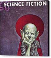 Science Fiction Cover, 1954 Canvas Print by Granger