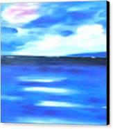 Sea Blue Sky Canvas Print