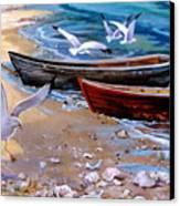 Sea Gull Cove Canvas Print