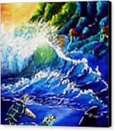 Sea Life Fantasy Canvas Print