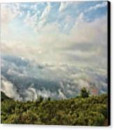 Sea Of Clouds Canvas Print by Manuel Benito