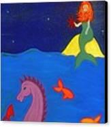 Sea Wishes Canvas Print