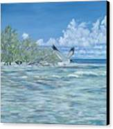 Seablue Canvas Print