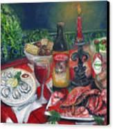 Seafood Soiree Canvas Print