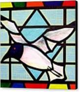 Seagull Serenade Canvas Print