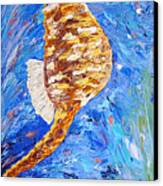 Seahorse Number 1 Canvas Print
