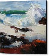 Seascape Aceo  Canvas Print