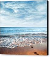 Seashore Canvas Print by Carlos Caetano