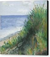 Seaside Canvas Print by Ginny Neece