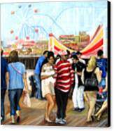 Seaside Heights Nj Canvas Print