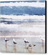 Seaspray Canvas Print by Holly Kempe