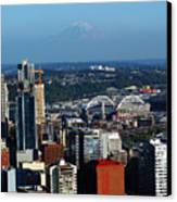 Seattle Skyline Canvas Print by Scott Gould