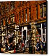 Seattle's Underground Tour Canvas Print by David Patterson