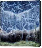 Seawall Series Number 3 Canvas Print