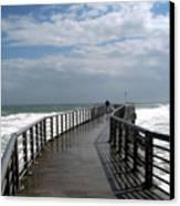 Sebastian Inlet On The Atlantic Coast Of Florida Canvas Print