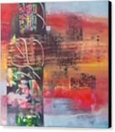 Secrate Strata Canvas Print