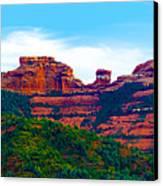 Sedona Arizona Red Rock Canvas Print by Jill Reger