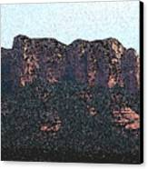 Sedona Rock Formation Canvas Print