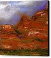 Sedona Storm Clouds Canvas Print