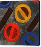 Segments 3 Canvas Print