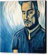 Self Portrait 2008 Canvas Print